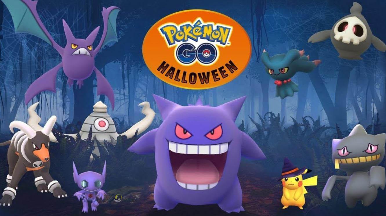 Ивент Хэллоуина 2018 в Покемон ГО