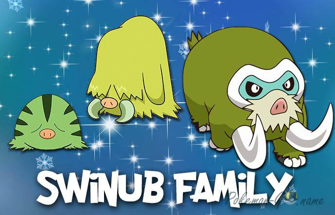 Shiny Family Swinub