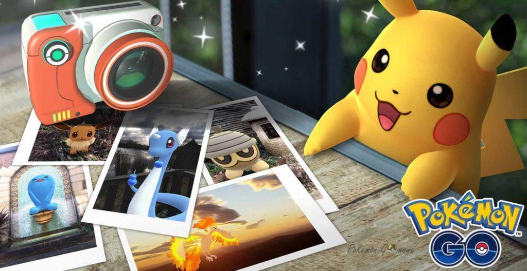 Фото Покемонов с Pokemon GO Snapshot