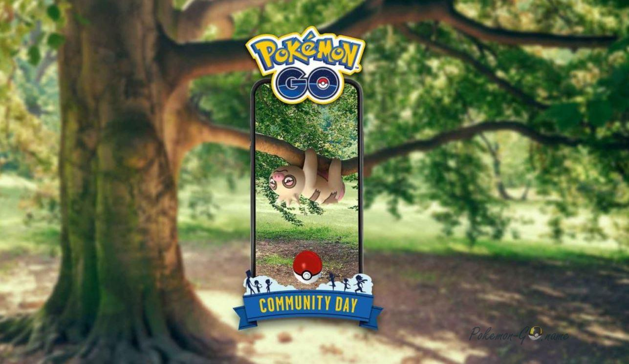 День Сообщества Pokemon GO в июне: обьявлен Слакот