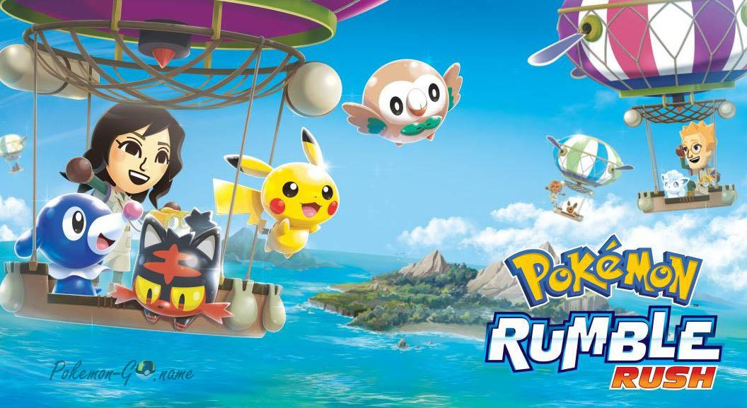 Игра Pokemon Rumble Rush для телефонов
