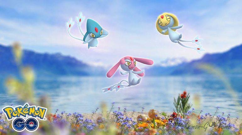 Lake Guardian Trio в Покемон ГО