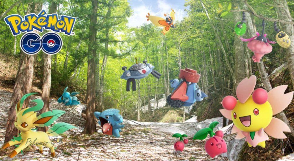 Новые Покемоны в игре Покемон ГО