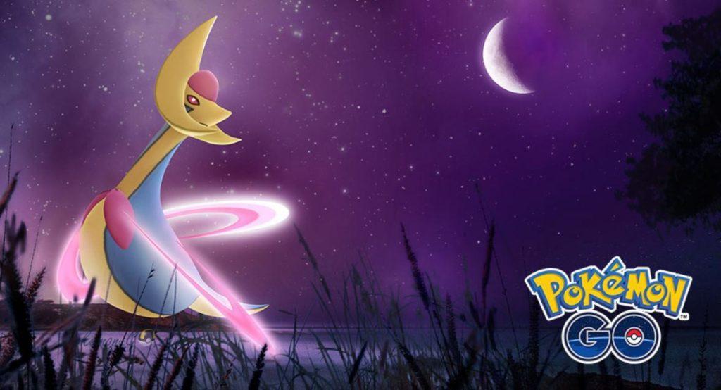 Покемон Кресселия в рейдах Pokemon GO