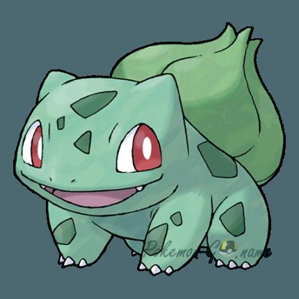 001 - Бульбазавр (Bulbasaur)