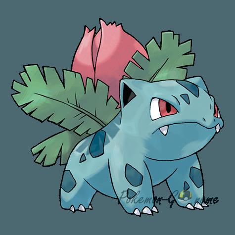 002 - Ивизавр (Ivysaur)