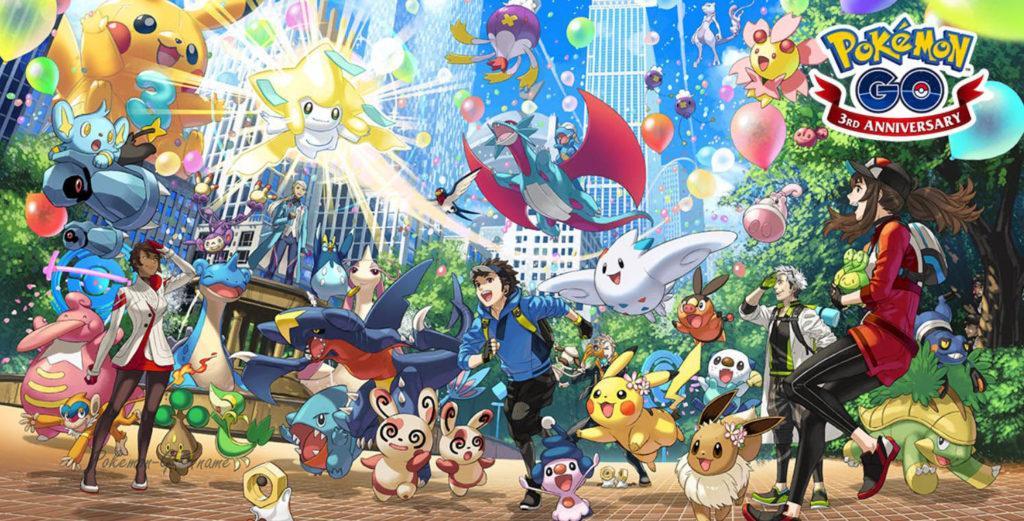 Третья годовщина Покемон ГО - серия ивентов