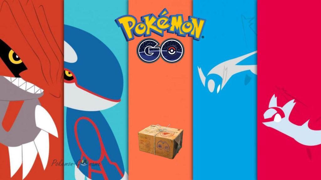 Легендарная коробка Breakthrough в Покемон ГО с июня