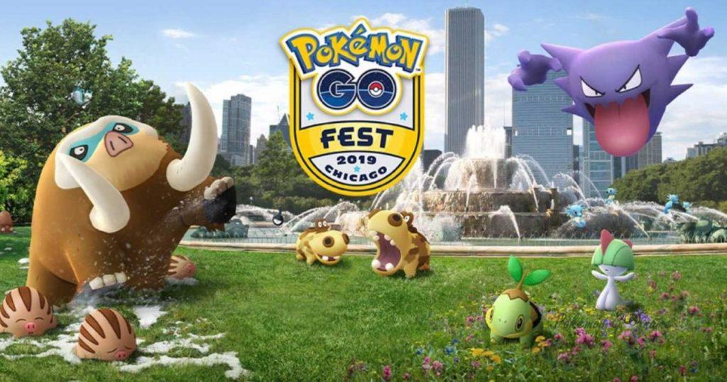 Pokemon GO Fest Chicago Challenge 2019