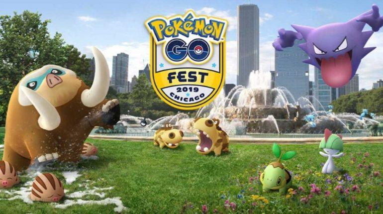 Pokemon GO Fest Chicago Challenge 2019