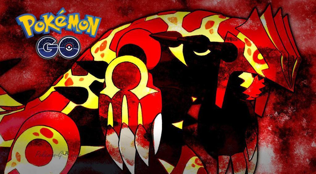 Рейд Босс Гроудон появляется в игре Покемон ГО
