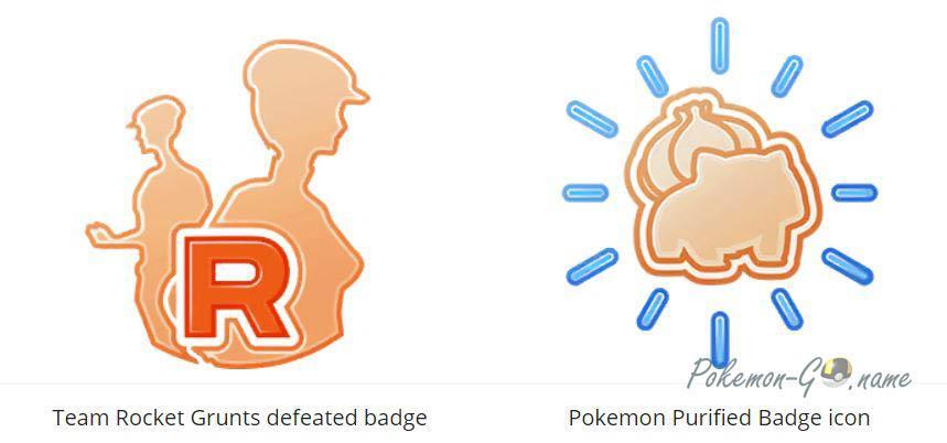 Новые медали Теневых Покемонов