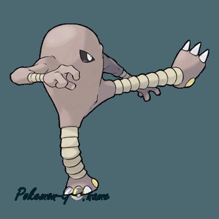106 - Хитмонли (Hitmonlee)