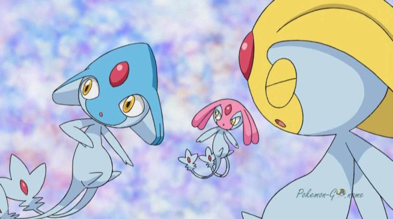 Час рейдов Lake Guardian Trio в Pokemon GO - Uxie, Mesprit, Azelf