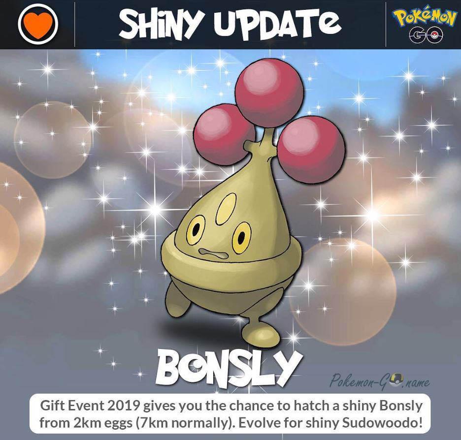 Shiny Pokemon Bonsly