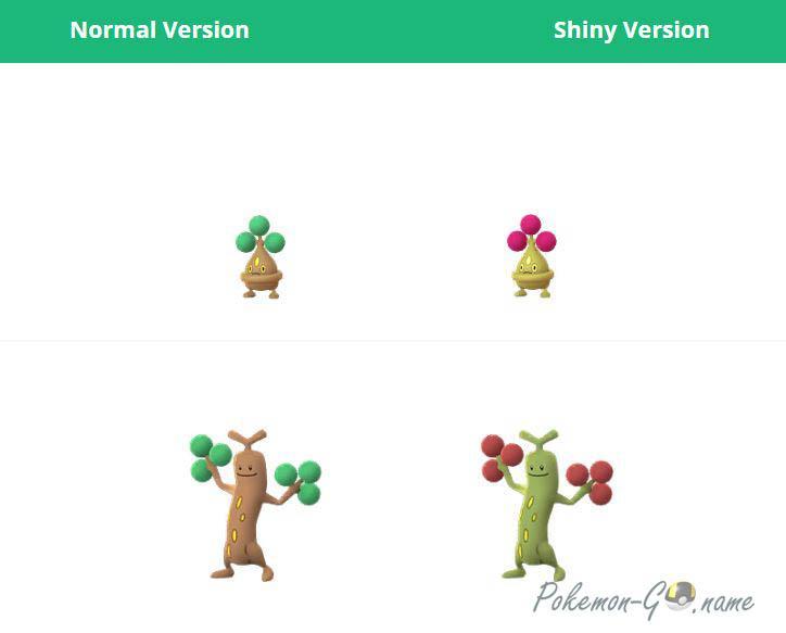 Shiny Pokemon Sudowoodo