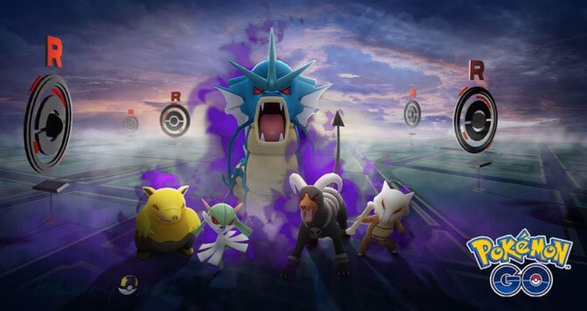 Новые Shadow Pokemons в Pokemon GO