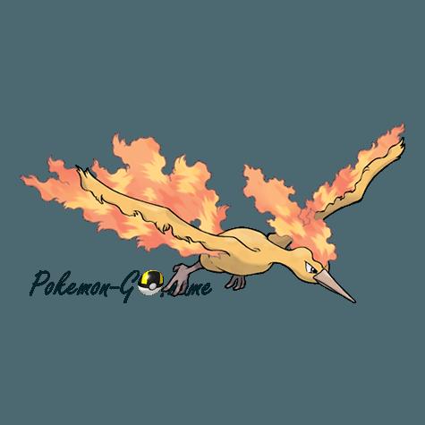 146 - Молтрес (Moltres)