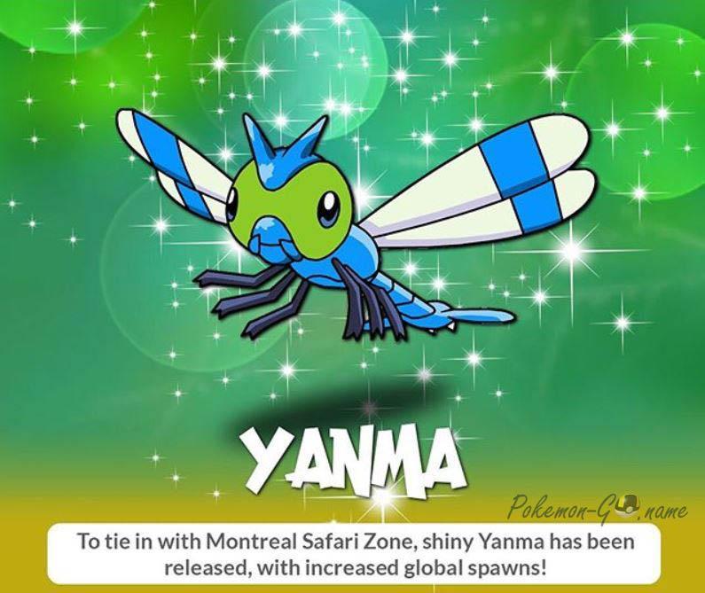 Shiny Yanma