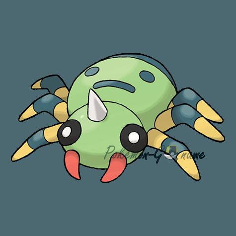 167 - Спинарак (Spinarak)