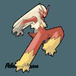 257 - Блейзикен (Blaziken)