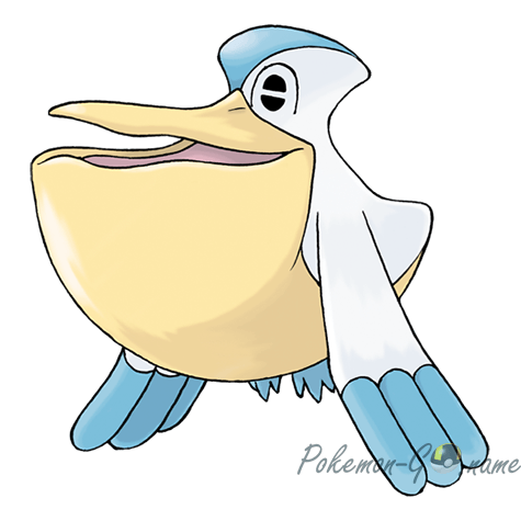 279 - Пелипер (Pelipper)