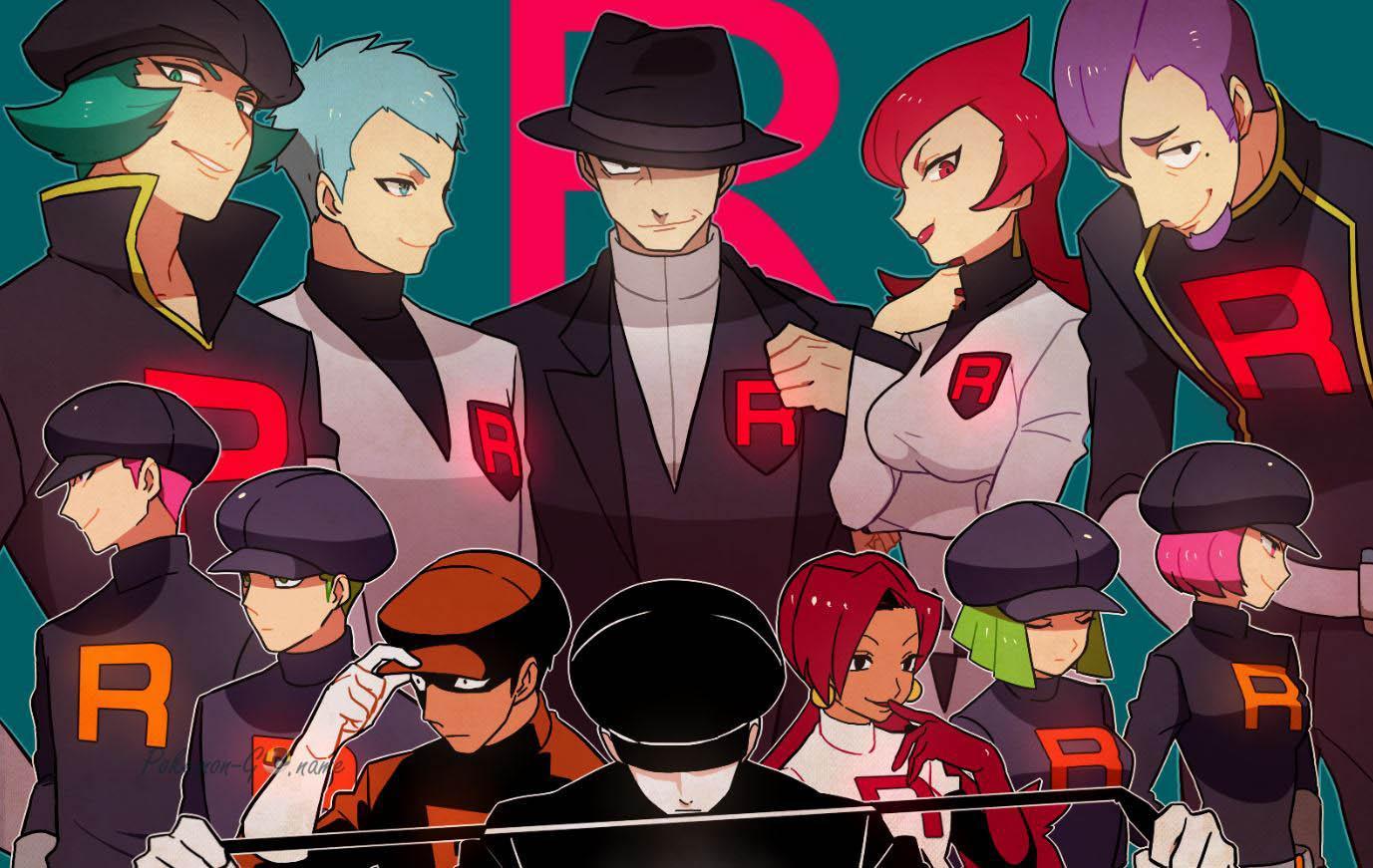 Новые персонажи Команды Р в Pokemon GO