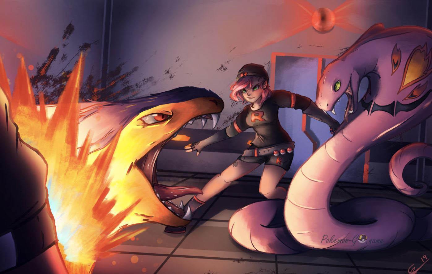 Team GO Rocket Grunts в Pokemon GO - как победить Команду R