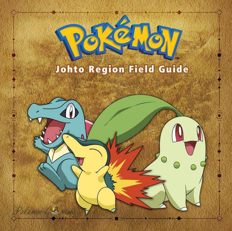 2 поколение Покемонов - регион Джото (Johto)