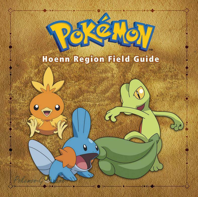 3 поколение Покемонов - регион Хоэнн (Hoenn)