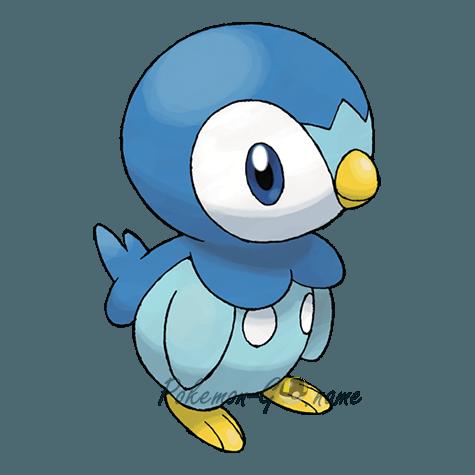 393 - Пиплап (Piplup)
