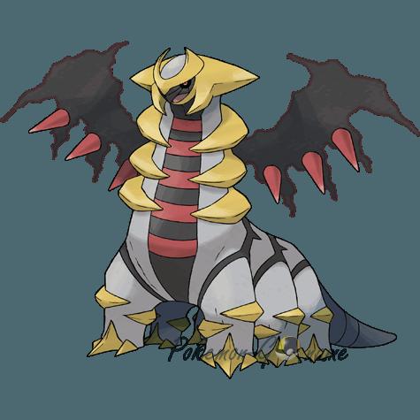 487 - Гиратина (Giratina)
