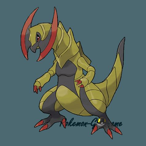 612 - Хаксорус (Haxorus)