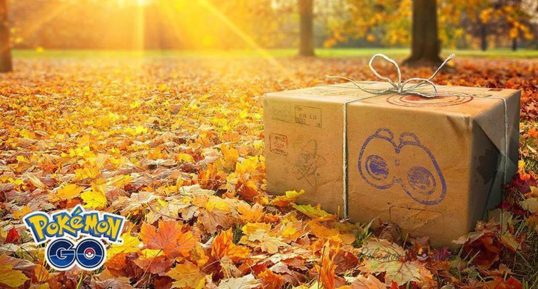 Легендарная коробка на Ноябрь 2019 в Покемон ГО