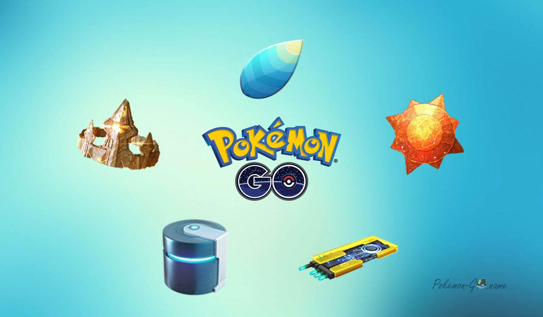 Специальные предметы эволюции в Покемон ГО