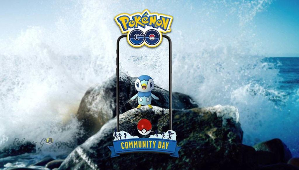 Community Day Piplup в Покемон ГО в январе 2020