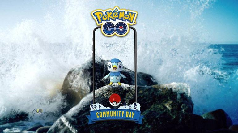 Community Day Piplup в Покемон ГО в январе 2020
