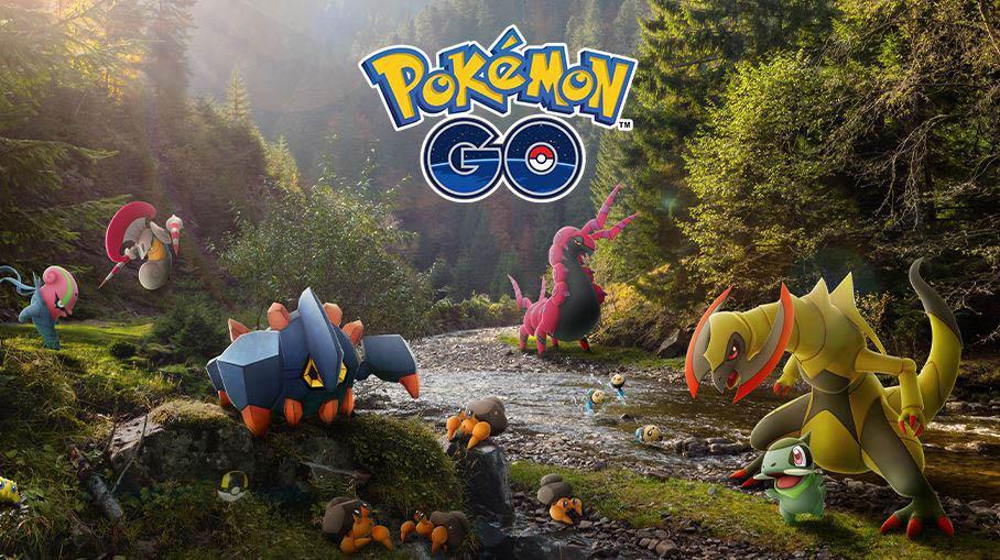 Новые Покемоны 5 поколения в Pokemon GO