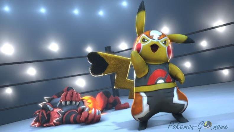 Pikachu Libre в Покемон ГО