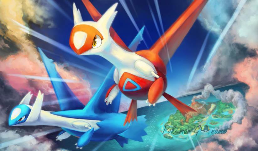 Специальный ивент Latios и Latias в Pokemon GO