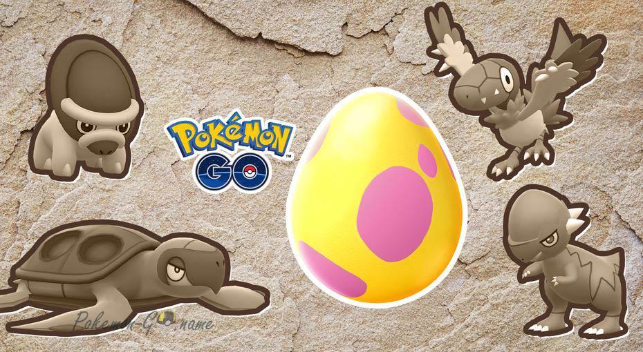 Яйца 7 км теперь содержат новых Покемонов