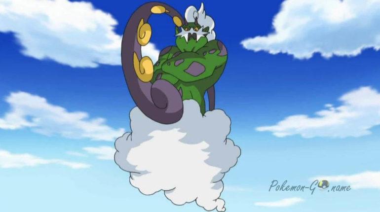 Час рейдов Торнадуса в Покемон ГО