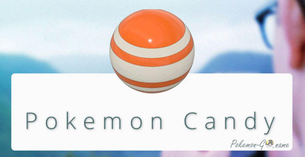 Pokemon GO Candy