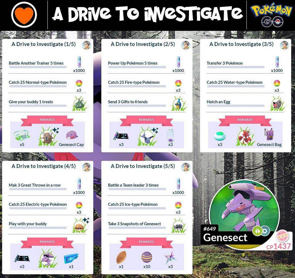 Специальный квест профессора A Drive to Investigate