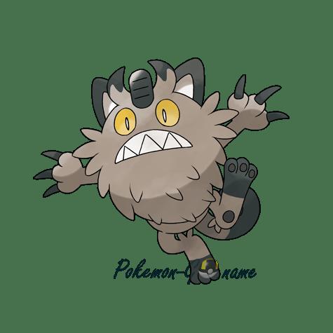 052 - Мяут Галариан (Galarian Meowth)