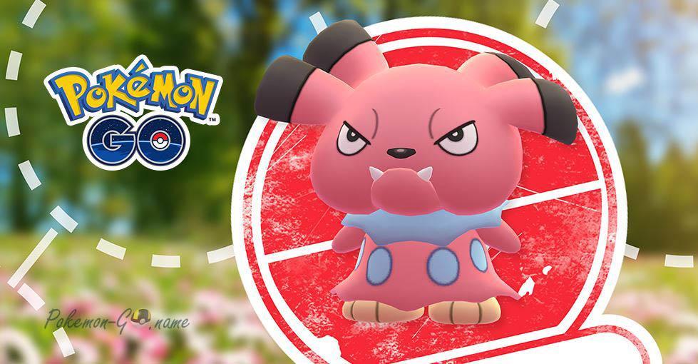 День исследований Покемона Snubbull в Pokemon GO