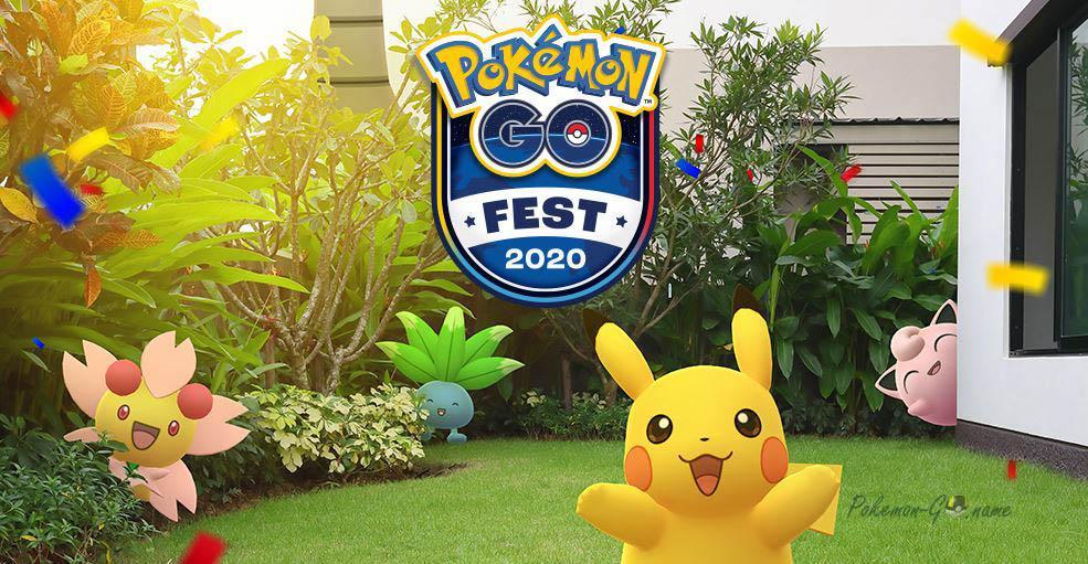 Pokemon GO Fest в 2020 году
