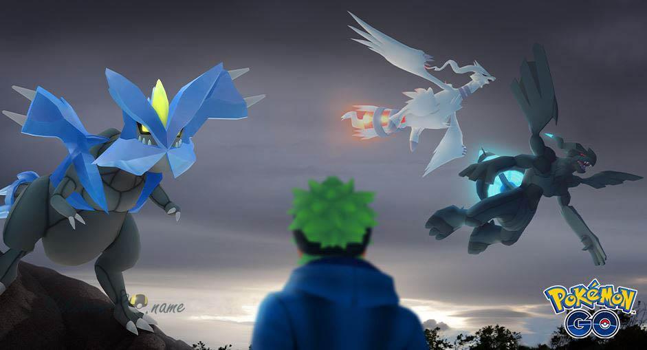 Legendary Pokemon Reshiram в рейдах мая 2020 в Покемон ГО