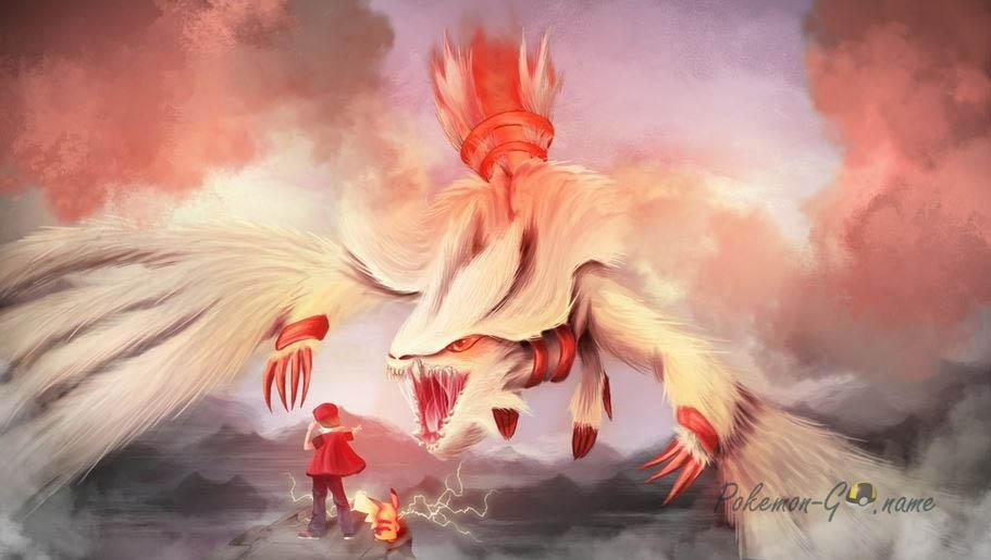 Час рейдов Reshiram в Pokemon GO
