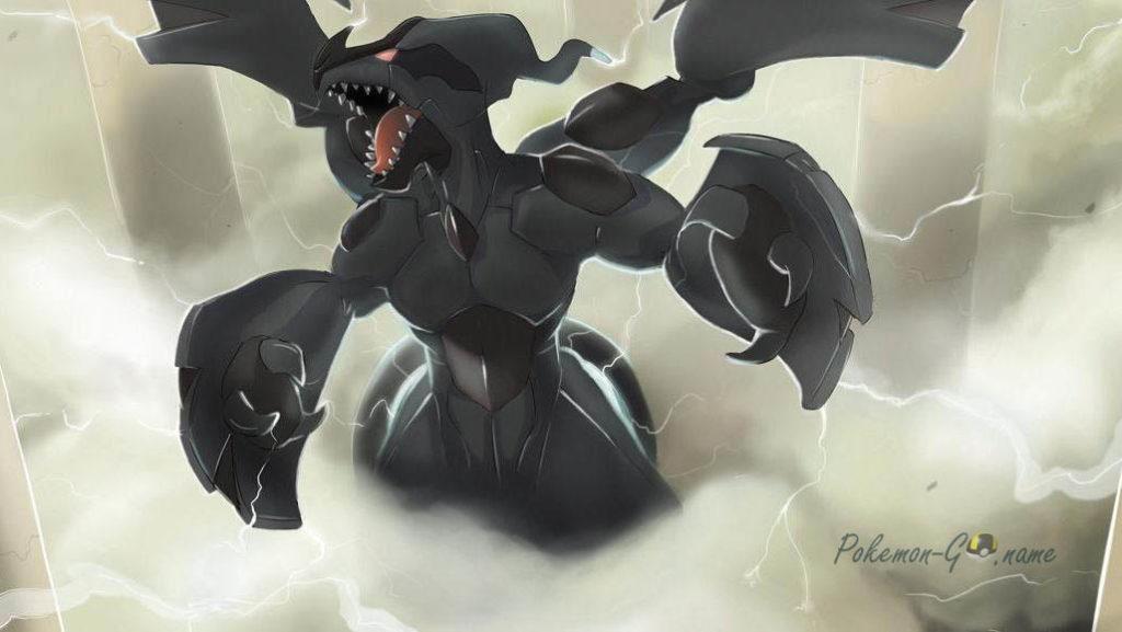 Час рейдов Zekrom в игре Pokemon GO